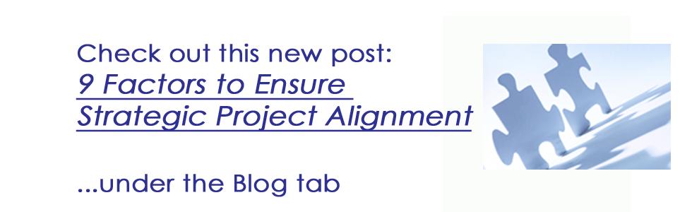 9 Factors to Ensure Strategic Project Alignment