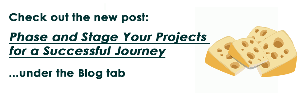 Phase and Stage Your Projects for a Successful Journey